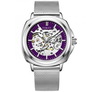 01-0060753 CUSTOM SKELETON SEE THROUGH MECHANICAL WATCHES FOR...