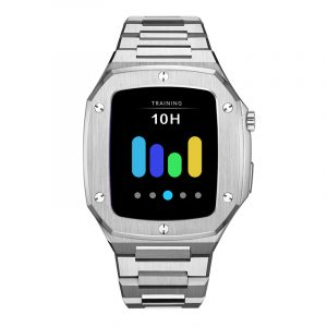 100-7-1001 stainless steel band  CUSTOM STAINLESS STEEL ANTI-SCRATCH WATCH CASE WATCH PROTECTOR FOR APPLE WATCH