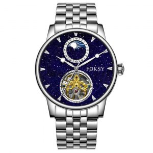 201-6-1006  CHINA FACTORY LUXURY STARRY OEM MECHANICAL HIGH QUALITY AUTOMATIC WATCH FOR MEN WRIST