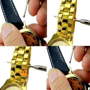 Tool 2 DOUBLE-HEADED STAINLESS STEEL WATCH BAND SPRING...