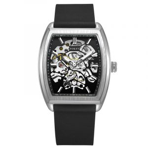 01-0060561 SOPHISTICATED TRANSPARENT FULLY SKELETON AUTOMATIC WATCH TIMEPIECE