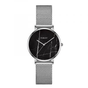 01-0070362  CUSTOM LOGO 316L STAINLESS STEEL SWISS RONDA MARBLE WATCHES FOR MAN