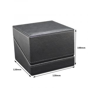 QS-JS010Z  SQUARE LEATHER WATCH BOX
