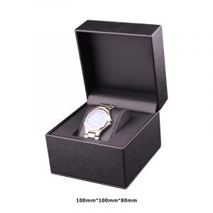 QS-JS093Z CLASSIC BLACK LEATHER PACKAGE BOX