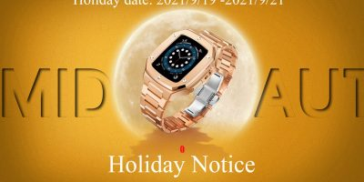 Notice about the holiday of Foksy Company