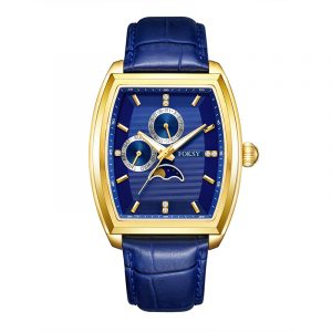 561S-7-1001-1 AUTOMATIC WATCH WITH TWO CHRONOGRAPH DIALS