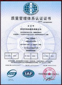 iso 9001 chinese